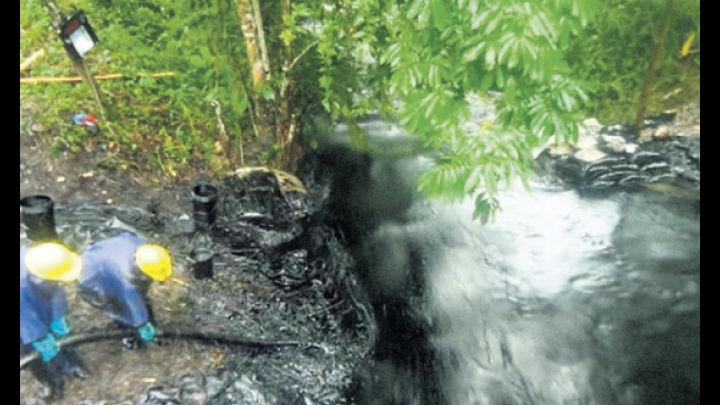 El dato.  Existe riesgo de que la población sea afectada por los gases tóxicos.