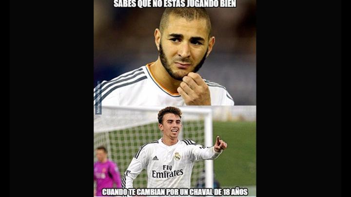 El Real Madrid y los memes tras su derrota con el Atlético de Madrid. Imágenes: difusión