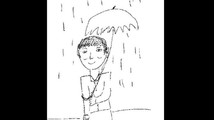 Sepa cómo dibujar a un hombre bajo la lluvia en una entrevista de ...