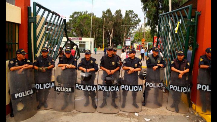La PNP ya tomó el control de la ciudad universitaria de San Marcos