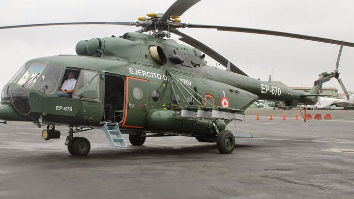 Helicóptero Mi-171Sh-P de fabricación rusa del Ejército peruano
