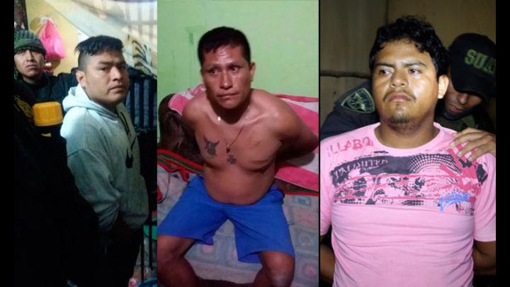Algunos detenidos por el presunto delito de Asociación Ilícita para Delinquir