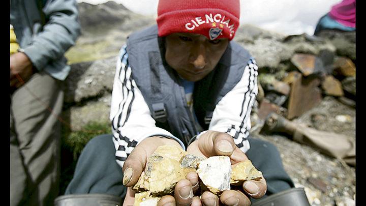 Efectos. Extracción ilegal de oro no solo devasta el ambiente, promueve otros delitos
