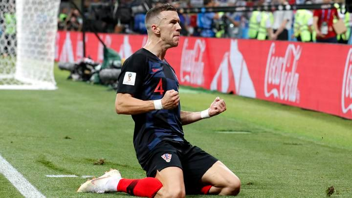 Inglaterra Vs Croacia Gol De Perisic Para El   Video En