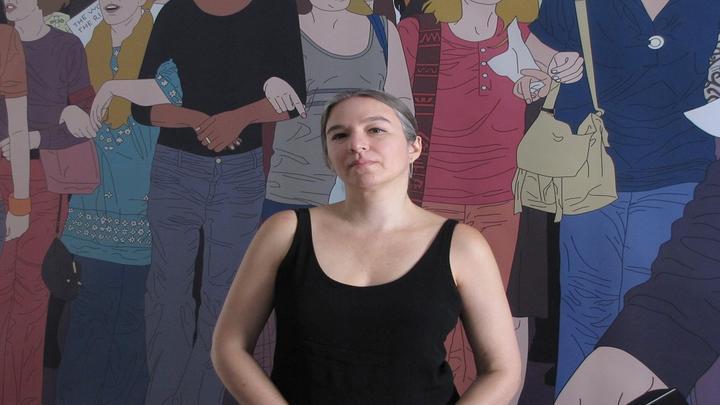 La artista Acha-Kutscher defiende el rol político que cumple su obra en este tiempo.