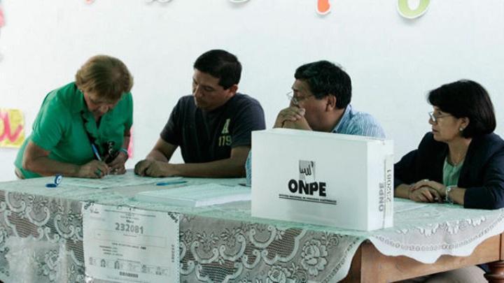 La ONPE señaló que el cargo de miembro de mesa es irrenunciable.