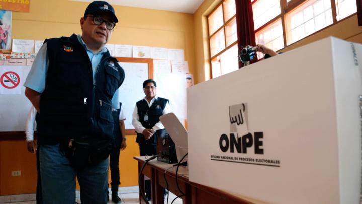Las personas que no lograron cambiar sulocal de votación podrán obtener esta información ingresando a la pagina web oficial de la ONPE.