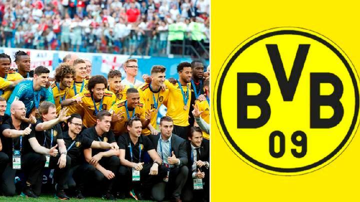 Axel Witsel fichó por el Borussia Dortmund tras brillar en Rusia 2018 | Fichajes 2018