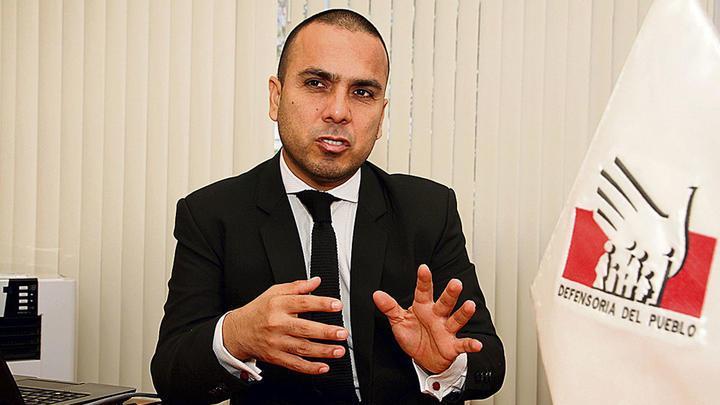 Defensor. Pidió a PNP mayor compromiso con denuncias.