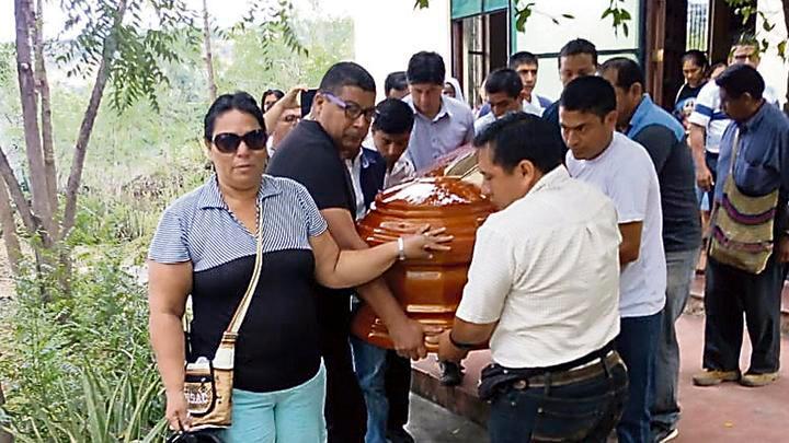 Velorio. Los restos del religioso ya están en Chiriaco.