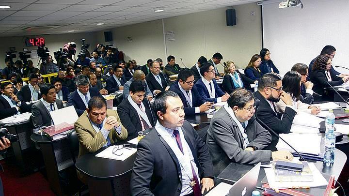 Pruebas y audios. La fiscal Rocío Sánchez sustento los cargos penales en audios, documentos y videos.