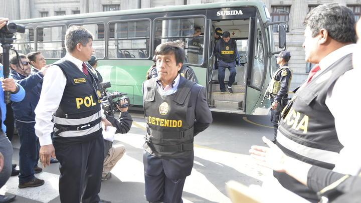 Decisión. Juez Manuel Chuyo Zavaleta decidirá la prisión