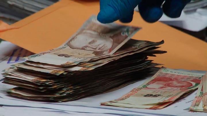 Dinero de litigante había sido marcado para tener pruebas de la extorsión.