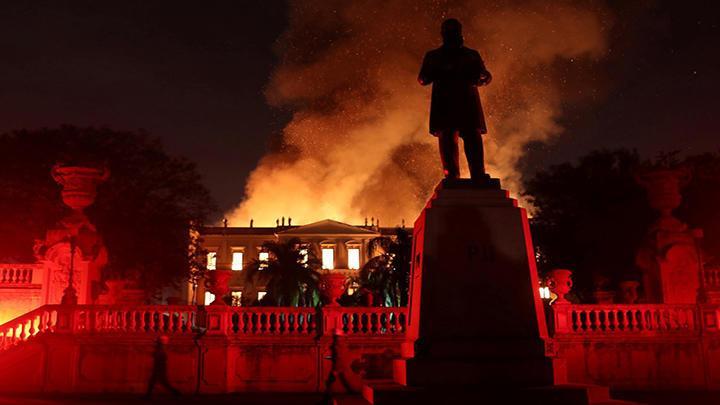 El incendio en el Museo Nacional de Brasil redujo a cenizas cerca del 90% del acervo de 20 millones de piezas.