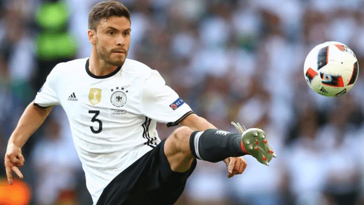 Jonas Héctor quedó desafectado de la selección alemana.