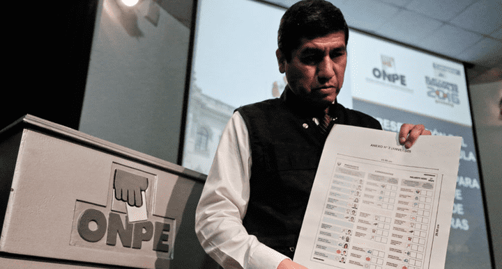 Elecciones 2018. ONPE fijó los lugares de votación luego del cambio de DNI