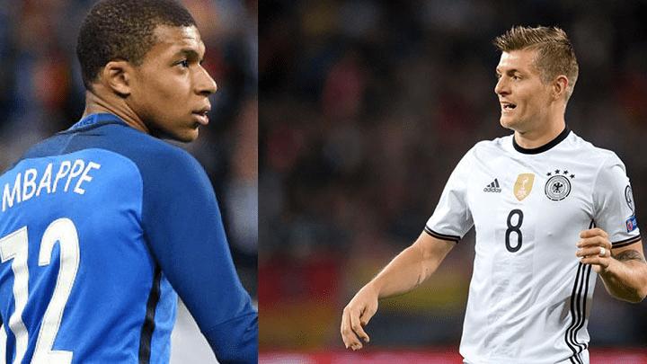 Alemania vs Francia EN VIVO ONLINE TV EN DIRECTO vía DirecTV por la Liga de las Naciones UEFA con Kylian Mbappé
