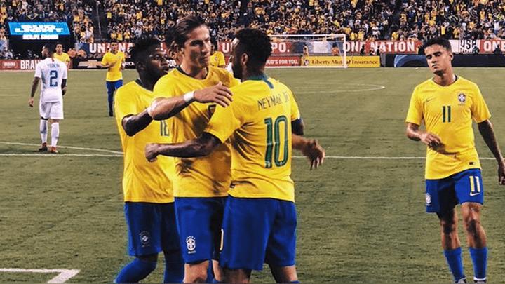 Brasil ganó 2-0 a Estados Unidos con gol de Neymar en amistoso internacional fecha FIFA en el Estadio MetLife Stadium | RESUMEN | GOLES