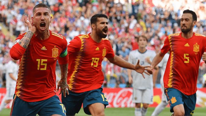 España ganó por 2-1 a Inglaterra en la Liga de Naciones de la UEFA.