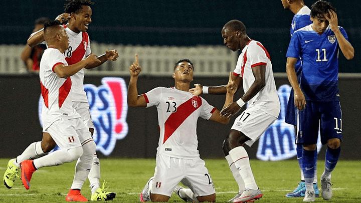 Daniel Chávez marcó el único gol de Perú en aquel amistoso con el equipo nortamericano