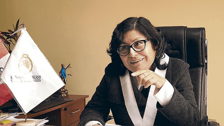 """Investigó el caso. Fiscal Edith Chillitupa asegura que se trató a menores como """"mercancía""""."""