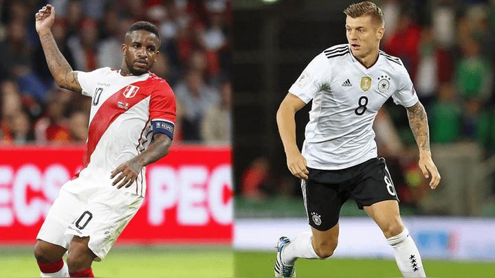 Perú perdió por 2-1 contra Alemania en amistoso FIFA.