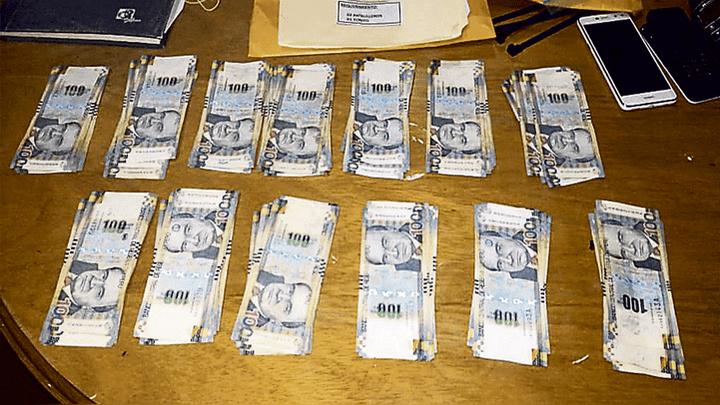 Dinero. Las autoridades también confiscaron más de 13 mil soles en efectivo.