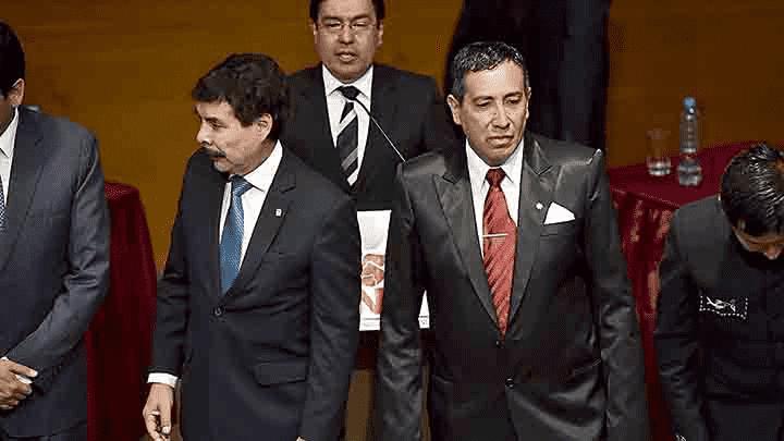 Enfrentados. Zegarra y Herrera se cuestionaron en debate.