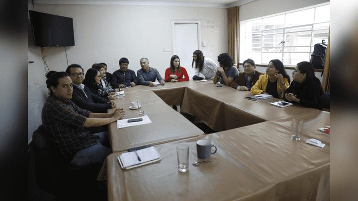 Sociedad civil. Los representantes de organizaciones sociales, gremiales y políticas preparan una larga lucha para salir de la grave crisis de corrupción.