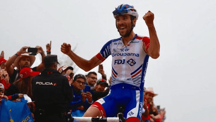 Francés Thibaut Pinot ganó la etapa 14 de la Vuelta a España. Se ubica séptimo en la clasificación general.