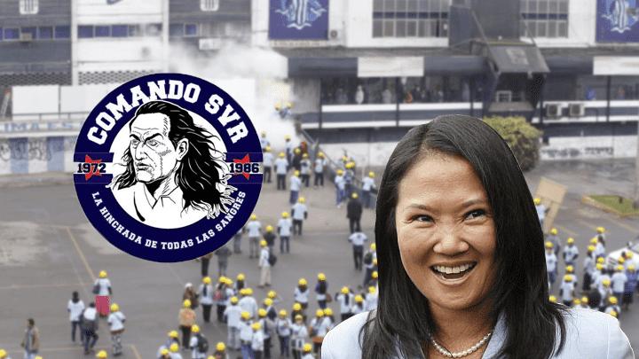 Comando Svr acusó seriamente a Keiko Fujimori por la invasión de evangélicos al estadio Alejandro Villanueva.