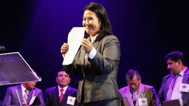 Keiko Fujimori y su pacto de compromiso.