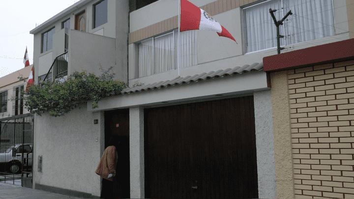 Así luce actualmente la casa de Los Sauces, Surquillo, donde fue capturado el líder senderista.