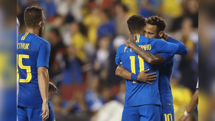 Brasil goleó 5-0 a una débil El Salvador por fecha FIFA | RESUMEN