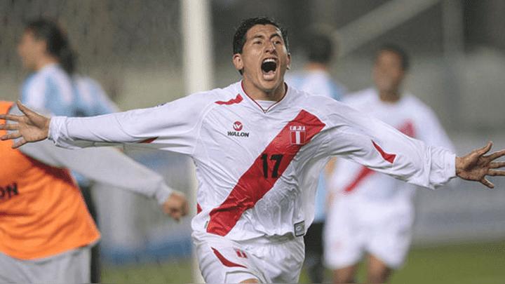 Gol de Johan Fano a Argentina.