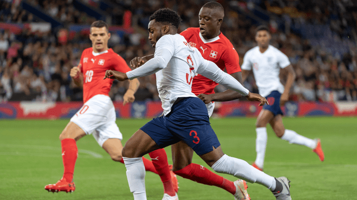 Inglaterra derrotó por la mínima diferencia a Suiza.
