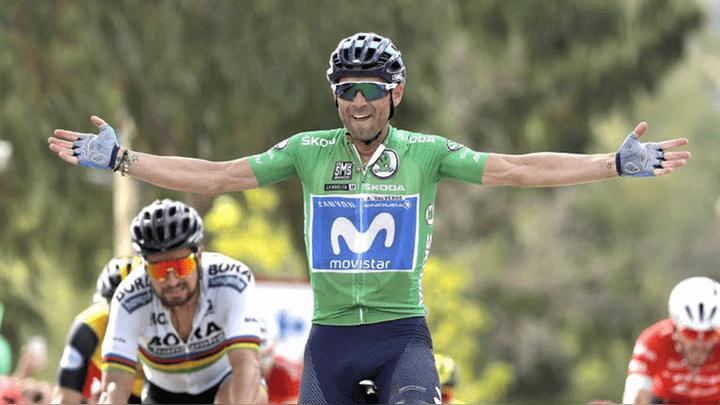 Alejandro Valverde es uno de los favoritos de la etapa 16.