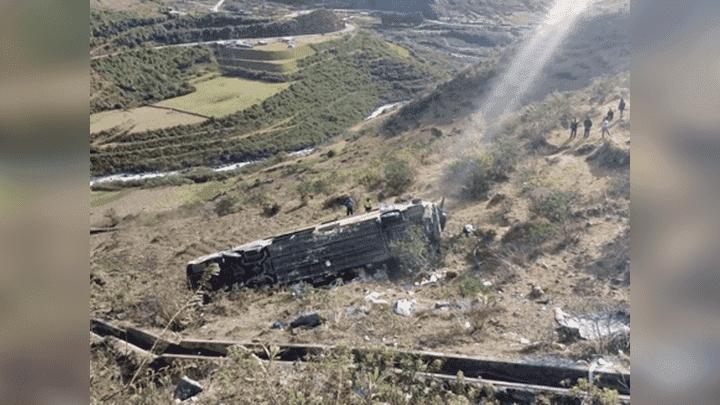 Accidente dejó decenas de personas heridas el pasado 6 de setiembre.