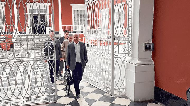 Luego de una reunión con Valdez. Directivos de concesionaria brasilera y representante de la Cámara de Comercio y Producción salieron satisfechos.