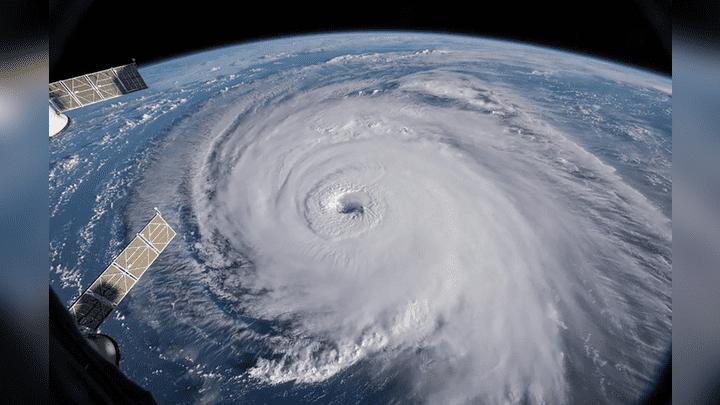 Los astronautas de la Estación Espacial Internacional publicaron las imágenes en sus cuentas de Twitter con la finalidad de alertar sobre la peligrosidad del huracán Florence.