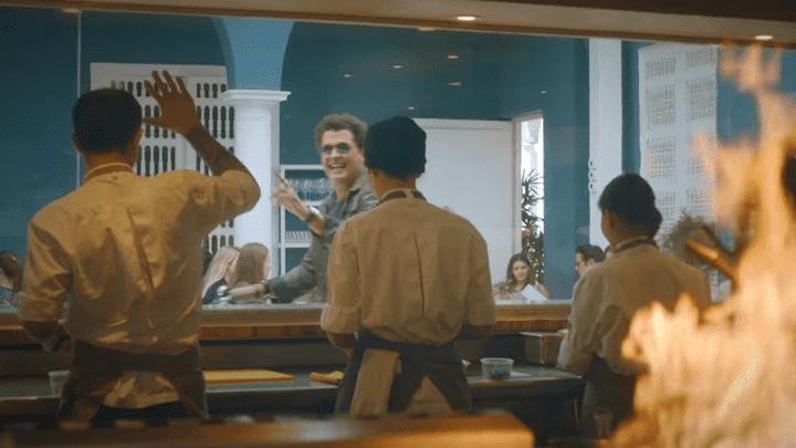 En videoclip, el cantante colombiano mostró la gastronomía peruana. Foto: Captura YouTube.