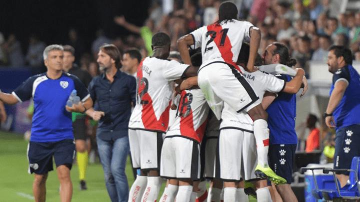 Rayo Vallecano logró su primer triunfo en la Liga Santander: venció 1-0 al SD Huesca