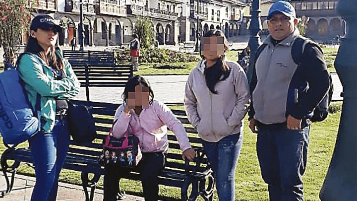 RESCATE. Hace unos días fueron halladas las niñas en Cusco.