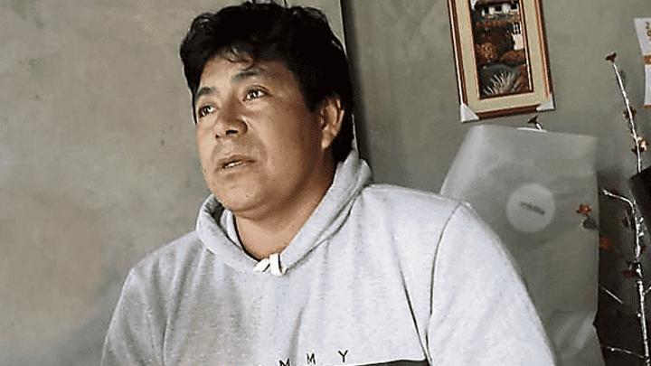 DOLOR. Néstor Fiestas, padre de las niñas, pide justicia.