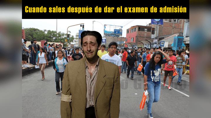 Hoy y mañana se realizará el examen de admisión de la Universidad Nacional Mayor de San Marcosy en redes comenzaron a circular graciosos memes. Aquí los mejores. Foto: Captura.