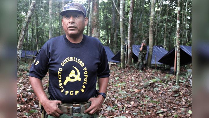 Camarada Artemio antes de ser capturado (Foto IDL-Reporteros).