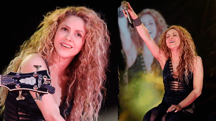 Shakira se dio un alto en su gira  'El Dorado' para pasar un día en familia. Foto: Instagram