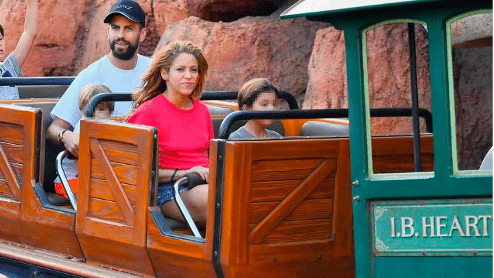 Shakira disfrutó de todos los juegos con los pequeños. Foto: The Grosby Group