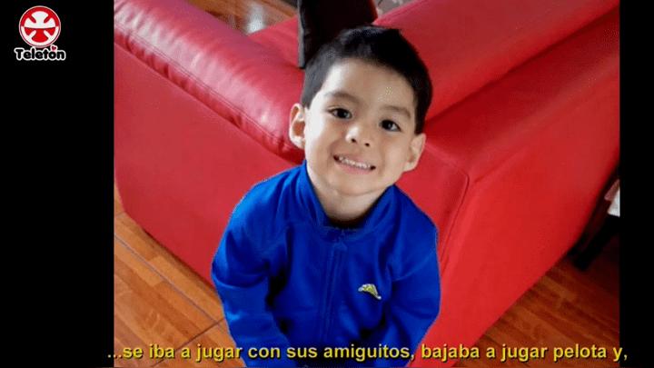 Muchos niños como él quisiera volver a sonreír gracias  a la donación de muchos peruanos.(Foto: captura)