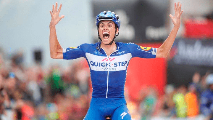 Enric Mas Nicolau ganó la etapa 20 de la Vuelta a España. Se ubica segundo en la clasificación general.